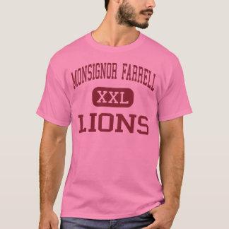 Monsignor Farrell -ライオン-高スタテン島 Tシャツ
