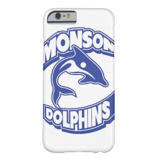 MonsonのイルカのIphoneの場合 Barely There iPhone 6 ケース