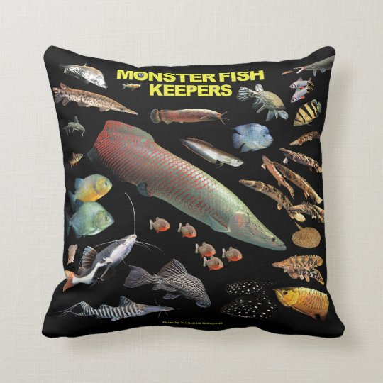 Monster Fish Keepers クッション