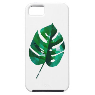 Monsteraの葉のデザイン iPhone SE/5/5s ケース