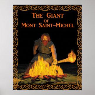 Montサンマイケルの巨人 ポスター