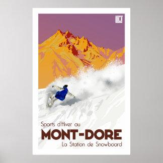 Mont Dore ポスター