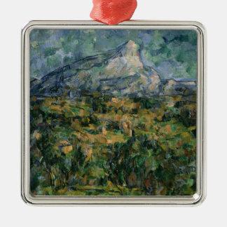 Mont Sainte-Victoire 1904-05年 メタルオーナメント