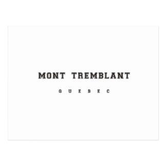 Mont Tremblantケベック ポストカード