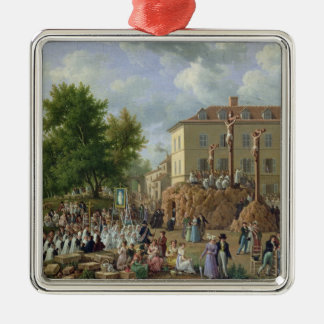 Mont Valerien 1819年への宗教行列 メタルオーナメント