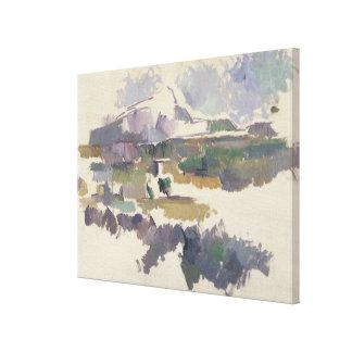 Montagne Sainte-Victoire 1904-05年 キャンバスプリント