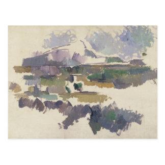 Montagne Sainte-Victoire 1904-05年 ポストカード