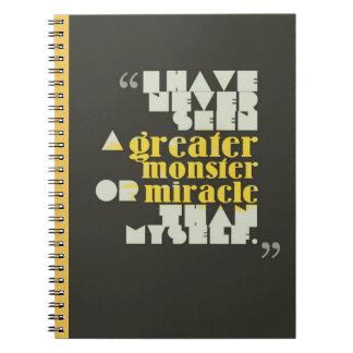 Montaigneのフランス人の引用文 ノートブック
