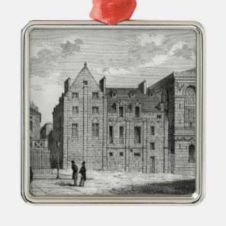 Montaiguの大学の残物、c.1850 シルバーカラー正方形オーナメント