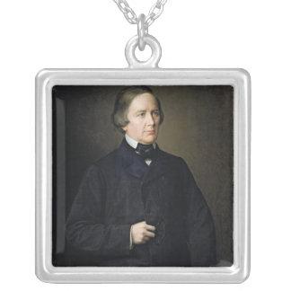 Montalembert 1879年のチャールズForbes計算 シルバープレートネックレス