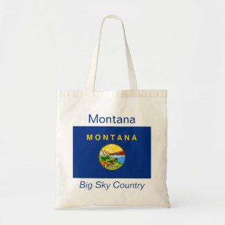 Montananの旗のバッグ トートバッグ