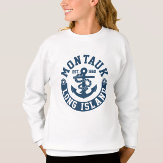 Montaukのロングアイランド スウェットシャツ