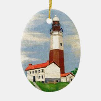 Montaukの灯台 セラミックオーナメント