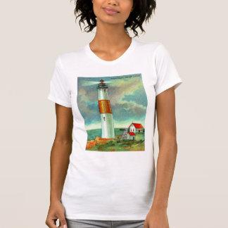 Montaukポイント灯台 Tシャツ