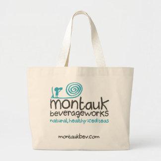 Montauk BeverageWorks -トートバック ラージトートバッグ