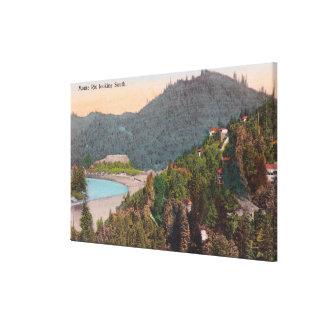 Monteリオからの南空中写真 キャンバスプリント