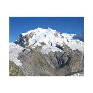 Monteローザのスイスのアルプス キャンバスプリント