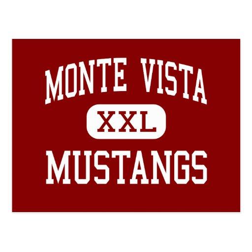 Monte ヴィスタ - ムスタング 高い Danville はがき