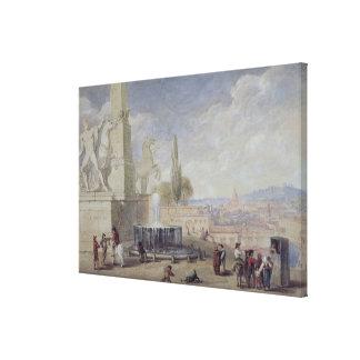 Monte Cavallo、ローマ キャンバスプリント