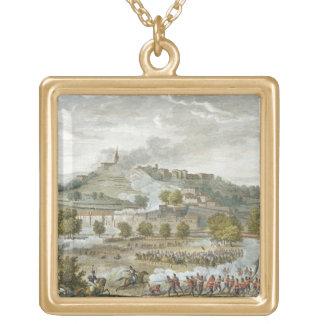 MontebelloおよびCasteggio、20 Prairiaの戦い ゴールドプレートネックレス