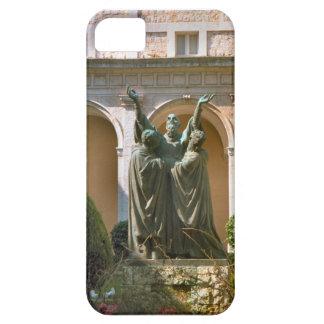 Montecassinoの中庭の彫像 iPhone SE/5/5s ケース