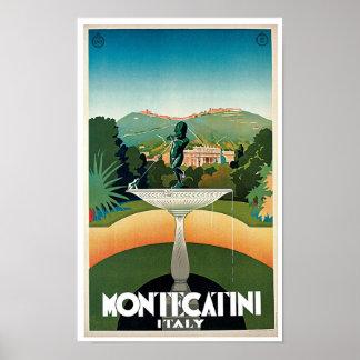 Montecatini ポスター