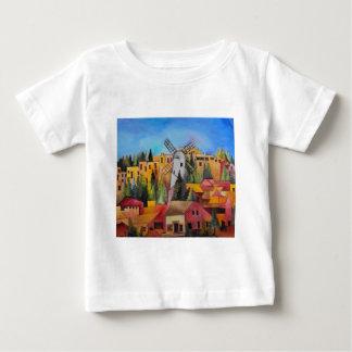 Montefioreの風車 ベビーTシャツ