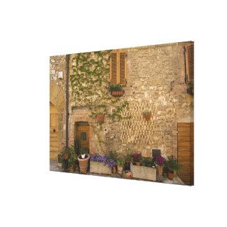 MontefollonicoのValのd'Orcia、シエナの地域、 キャンバスプリント