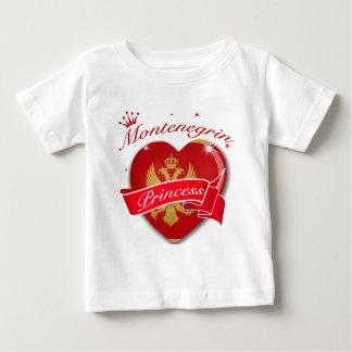 Montenegranのプリンセス ベビーTシャツ