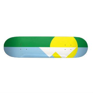 MontesのClarosミナスジェライス州、ブラジル 18.4cm ミニスケートボードデッキ