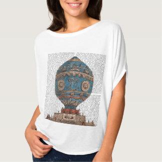 Montgolfier Aerostatiqueの熱気の気球 Tシャツ
