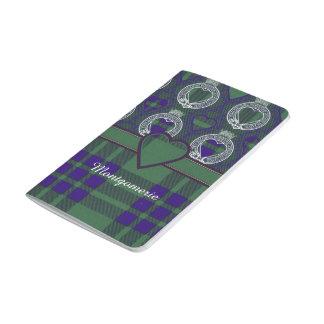 Montgomerieの一族の格子縞のスコットランド人のタータンチェック ポケットジャーナル