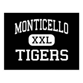 Monticello -トラ-高湖プロヴィデンス ポストカード