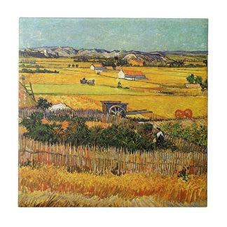 MontmajourのLa Crauで、…収穫して下さい タイル