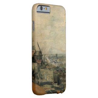Montmarteからのパリのゴッホの眺め、ファインアート iPhone 6 ベアリーゼアケース