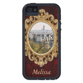 Montmartreの丘からのパリの眺め iPhone SE/5/5s ケース
