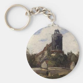 Montmartreカミーユ・ピサロの電信タワー キーホルダー