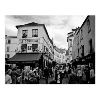Montmartre、パリ ポストカード