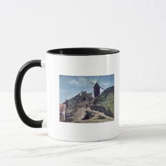 Montmartre 1840-45年の風車 マグカップ