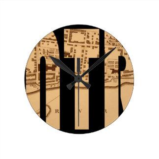 montreal1758 ラウンド壁時計