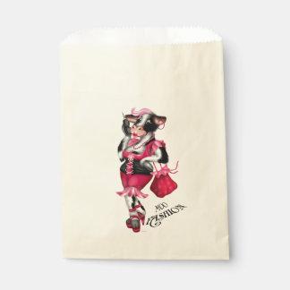 MOOのファッションのかわいい好意のバッグのベージュ色 フェイバーバッグ