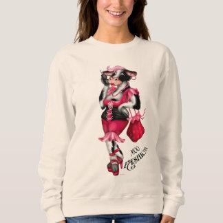 MOOのファッションの女性のチャンピオンの女性の基本的な汗 スウェットシャツ