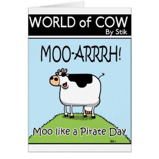 Mooは海賊日を好みます カード