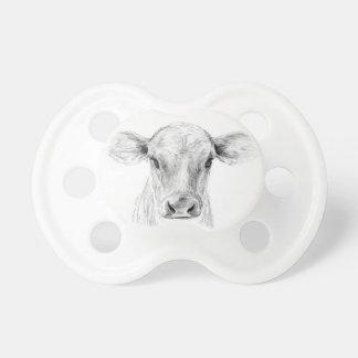 Mooジャージー若い牛 おしゃぶり