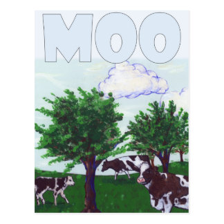 Moo ポストカード