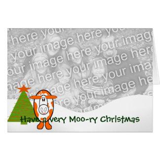 Moo ryクリスマスを非常に持って下さい- - カード