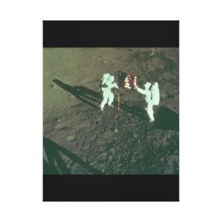 Moon_Spaceの人 キャンバスプリント