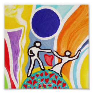 Moonbeamsで踊ること ポスター