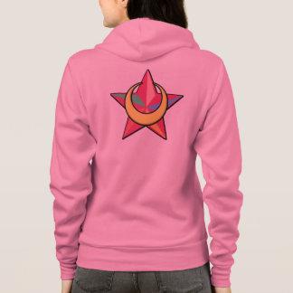 Moonbowのフード付きスウェットシャツ パーカ