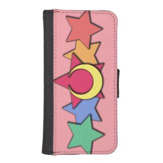 Moonbowの財布の電話箱 iPhoneSE/5/5sウォレットケース
